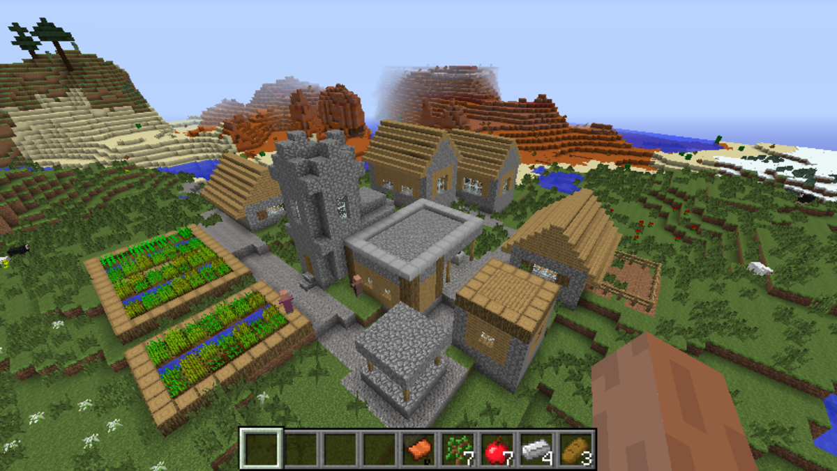 Great village seeds for minecraft 1 7 10 1 8 with videos