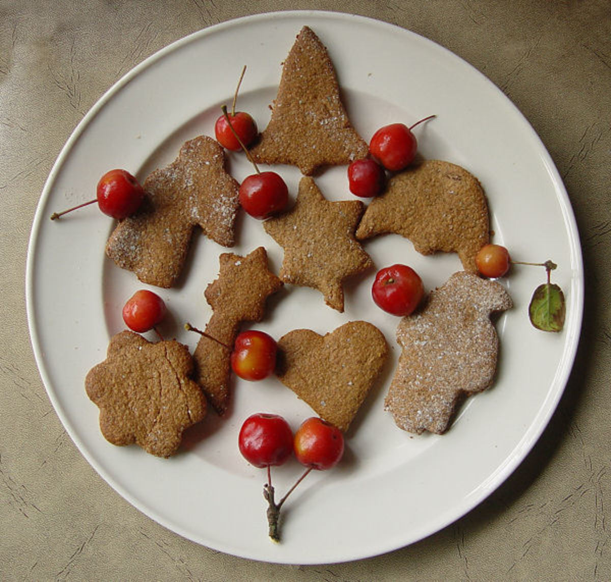 Christmas peppernut cookies