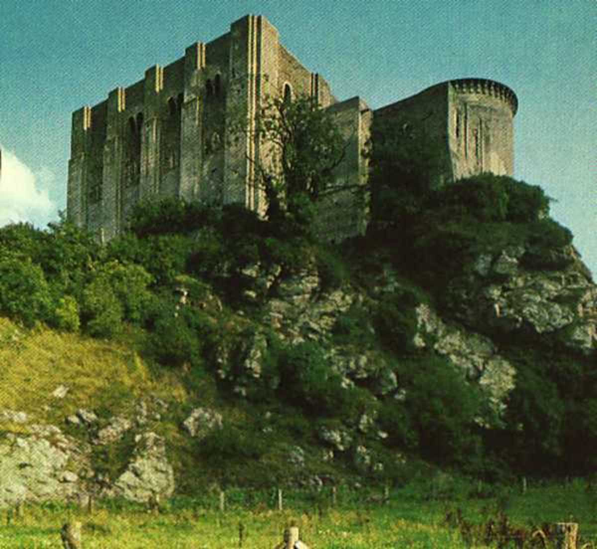 Falaise Castle, where William fitzRobert (Duke William) was born and where William fitzOsbern spent much of his young life