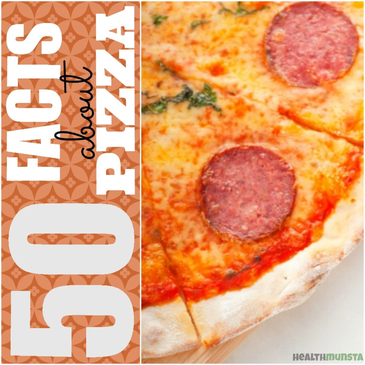 50 Fun Facts about Pizza | Health Facts, Business Facts, World Record Facts and many more interesting facts about the popular pizza you never knew before!