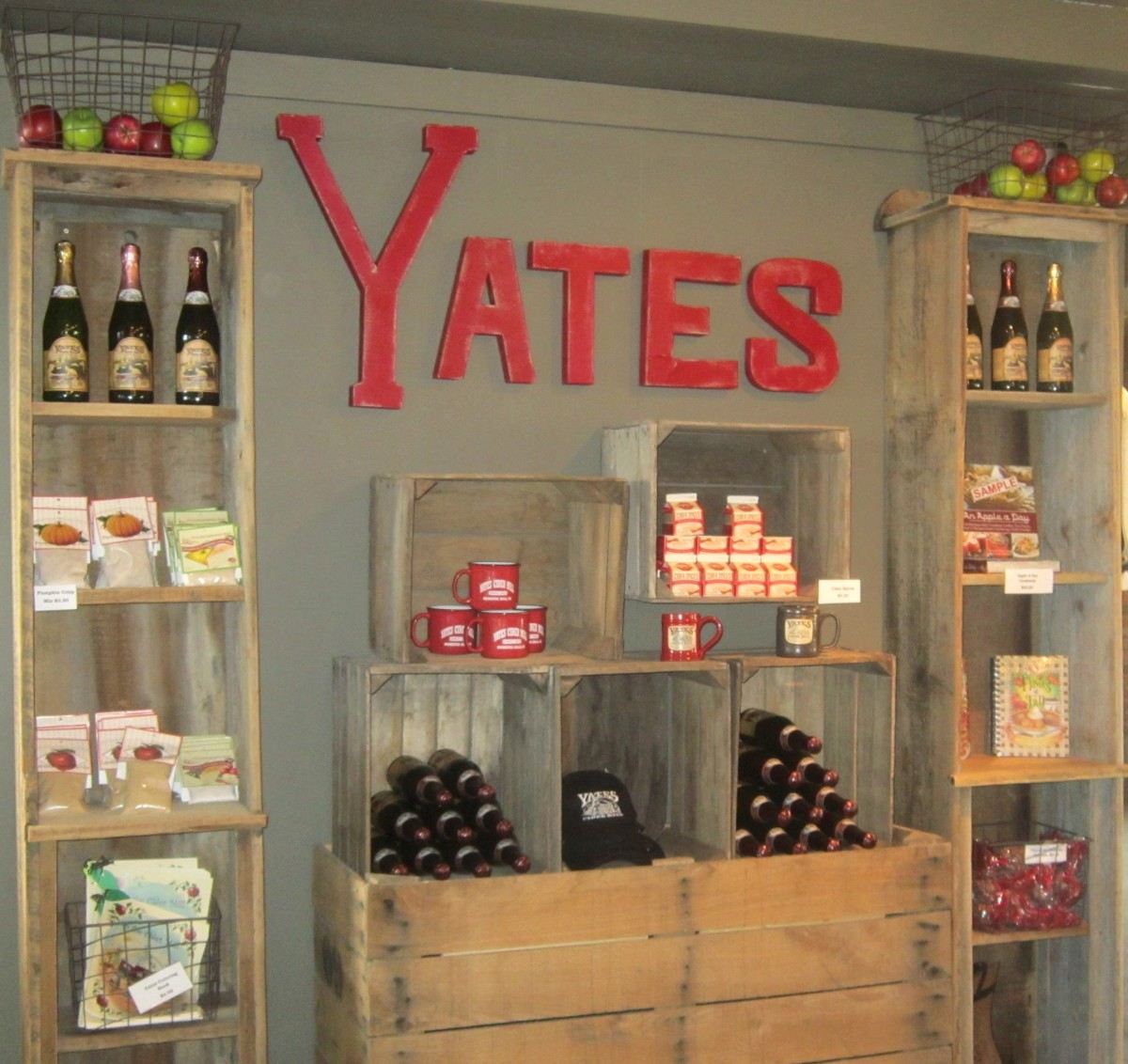 Yates Cider Mill's store within Canterbury Village.
