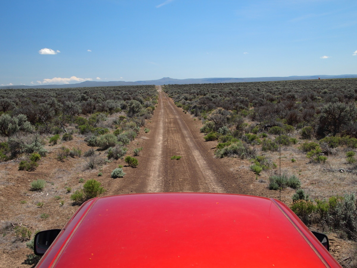 Wide open spaces and long-distance opportunities still exist in southern Oregon's high desert.