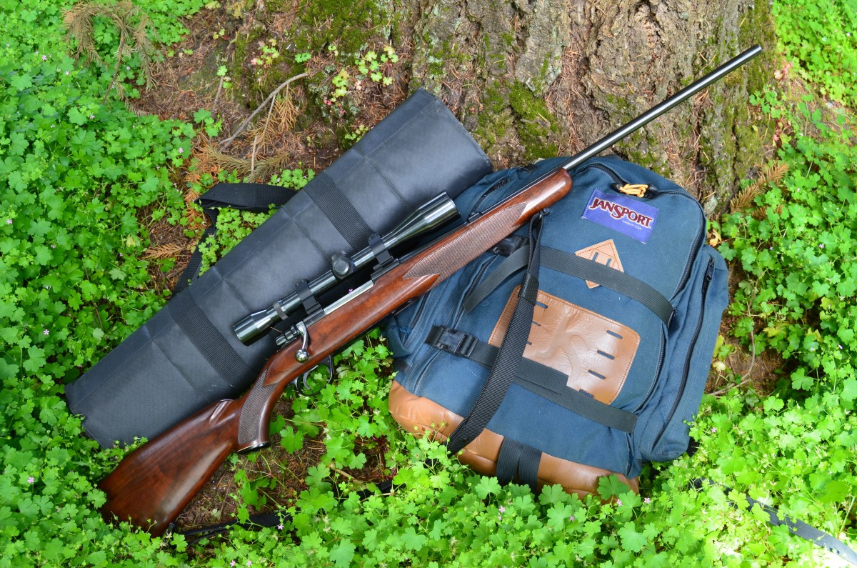 This old but well cared for Husqvarna .243 Win bolt action sporter is a versatile rifle, and a good choice for coyotes and other predators, such as badgers and bobcats.