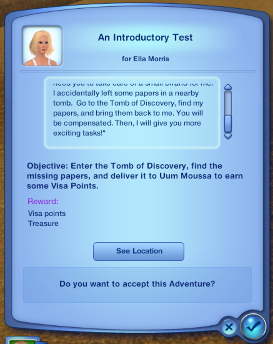 Mission: An Introductory Test