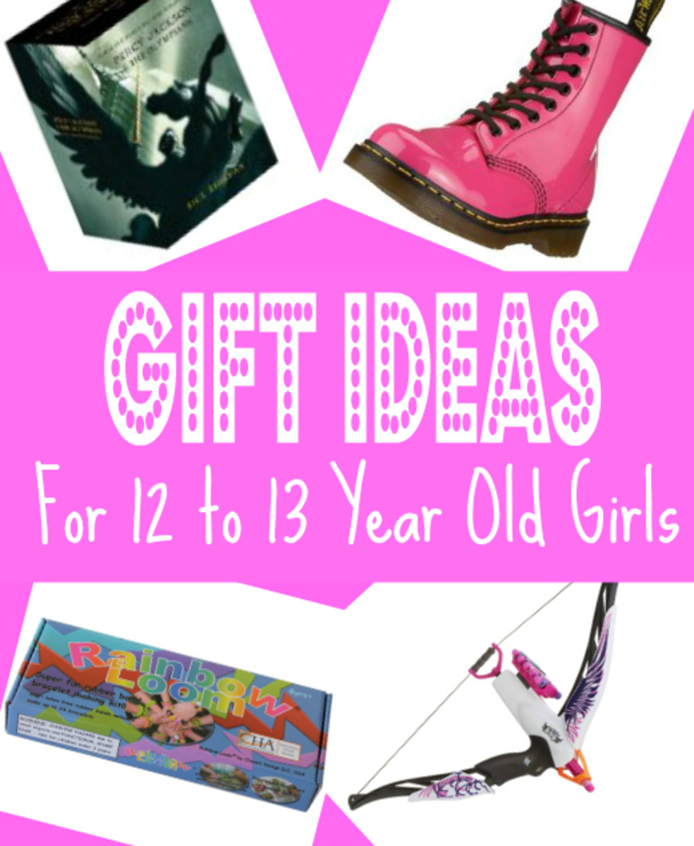 Gift Ideas for 12 to 13 Year Old Girls