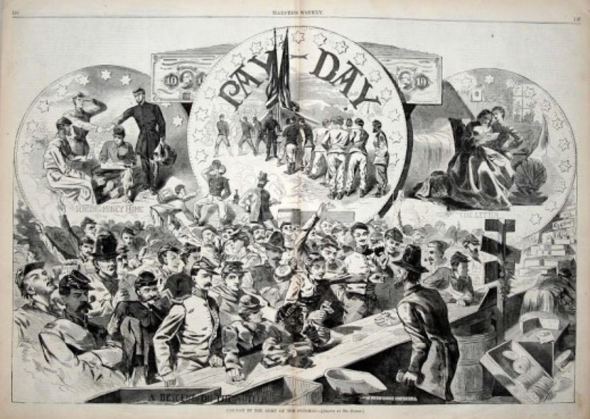 American Civil War Life: Union Infantryman – Life in Camp 7