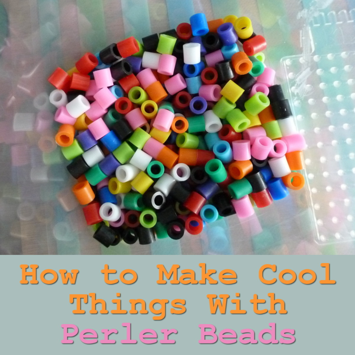 How to make cool things using fused Perler beads Hama beads craft for kids and adults
