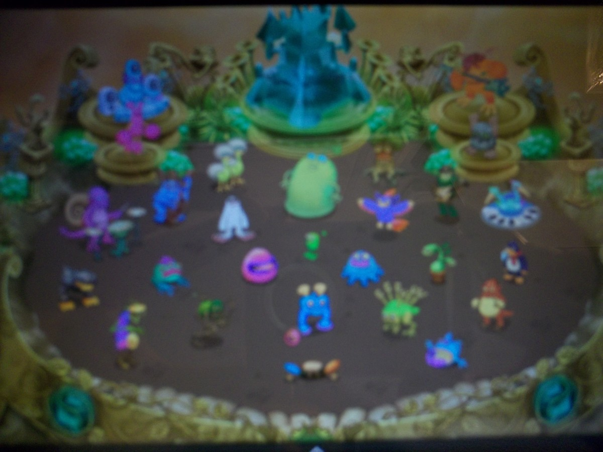 My Singing Monsters Gold Island