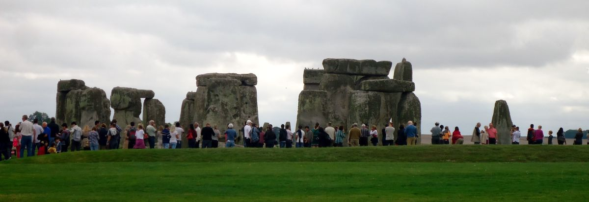 Stonehenge - popular with tourists all year round
