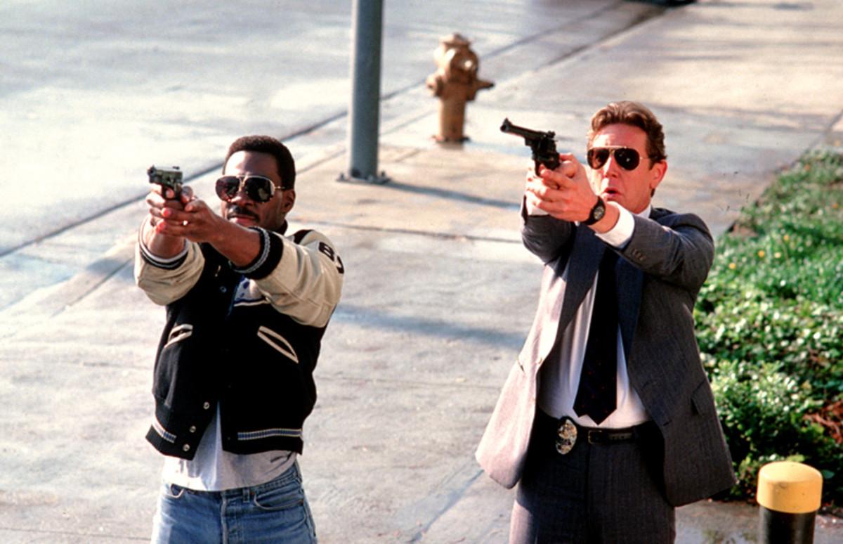 Eddie Murphy & Judge Reinhold in Beverly Hills Cop II (1987)