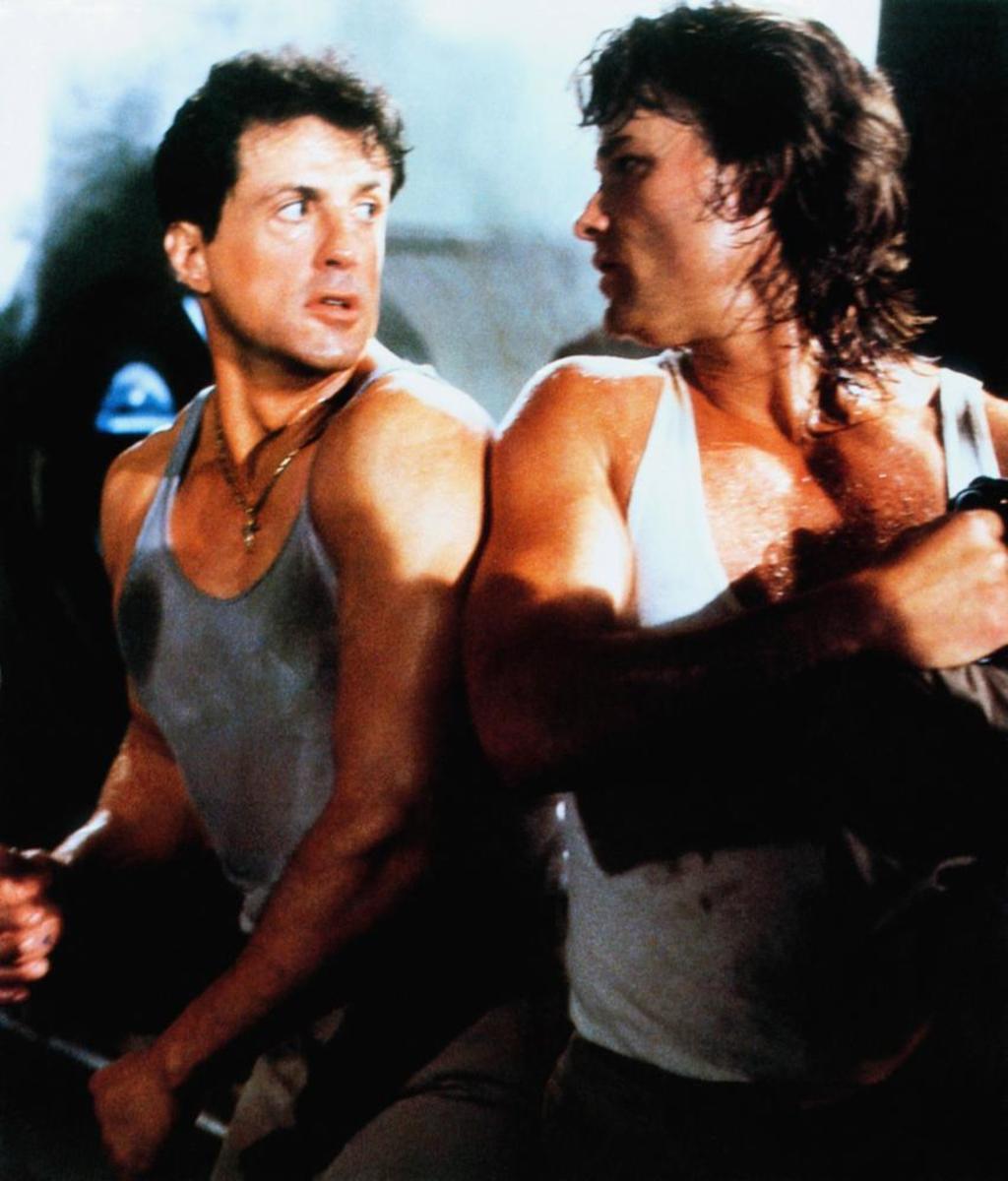 Sylvester Stallone & Kurt Russell as Tango & Cash (1989)