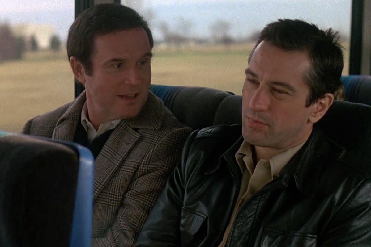 "Charles Grodin & Robert De Niro in ""Midnight Run (1988)"""