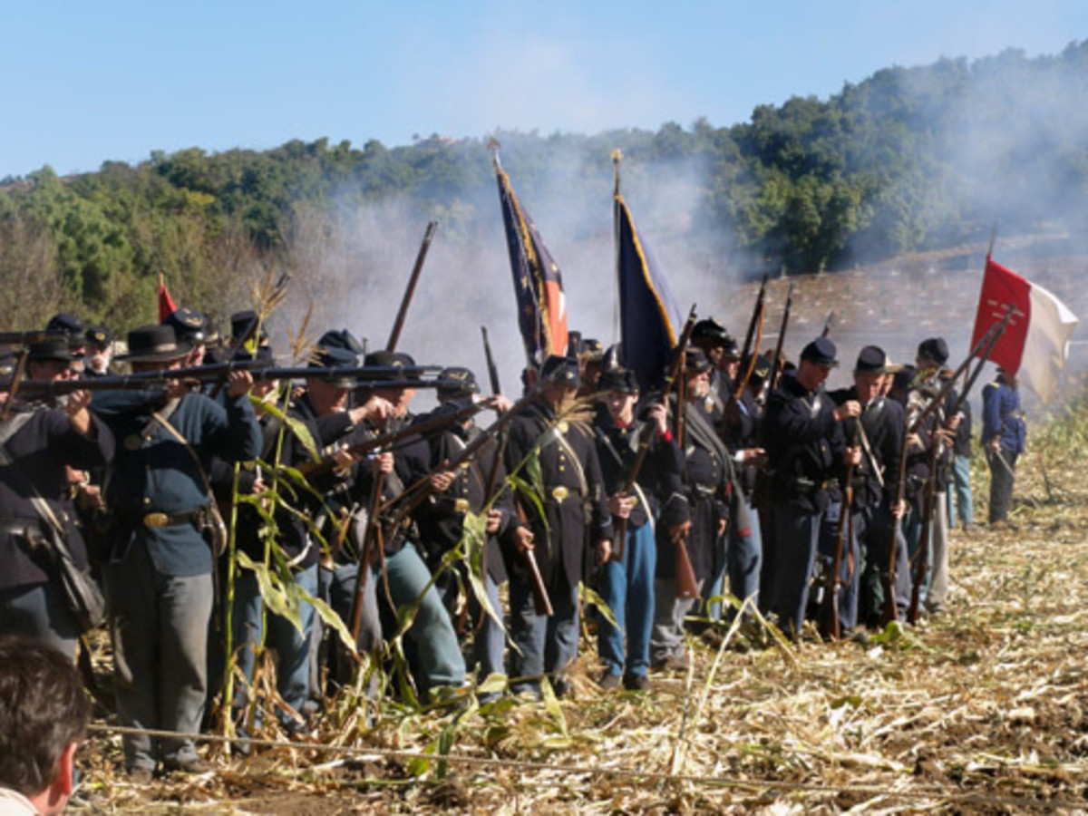 American Civil War Life: Union Infantryman – Drills III: Positions To Fire