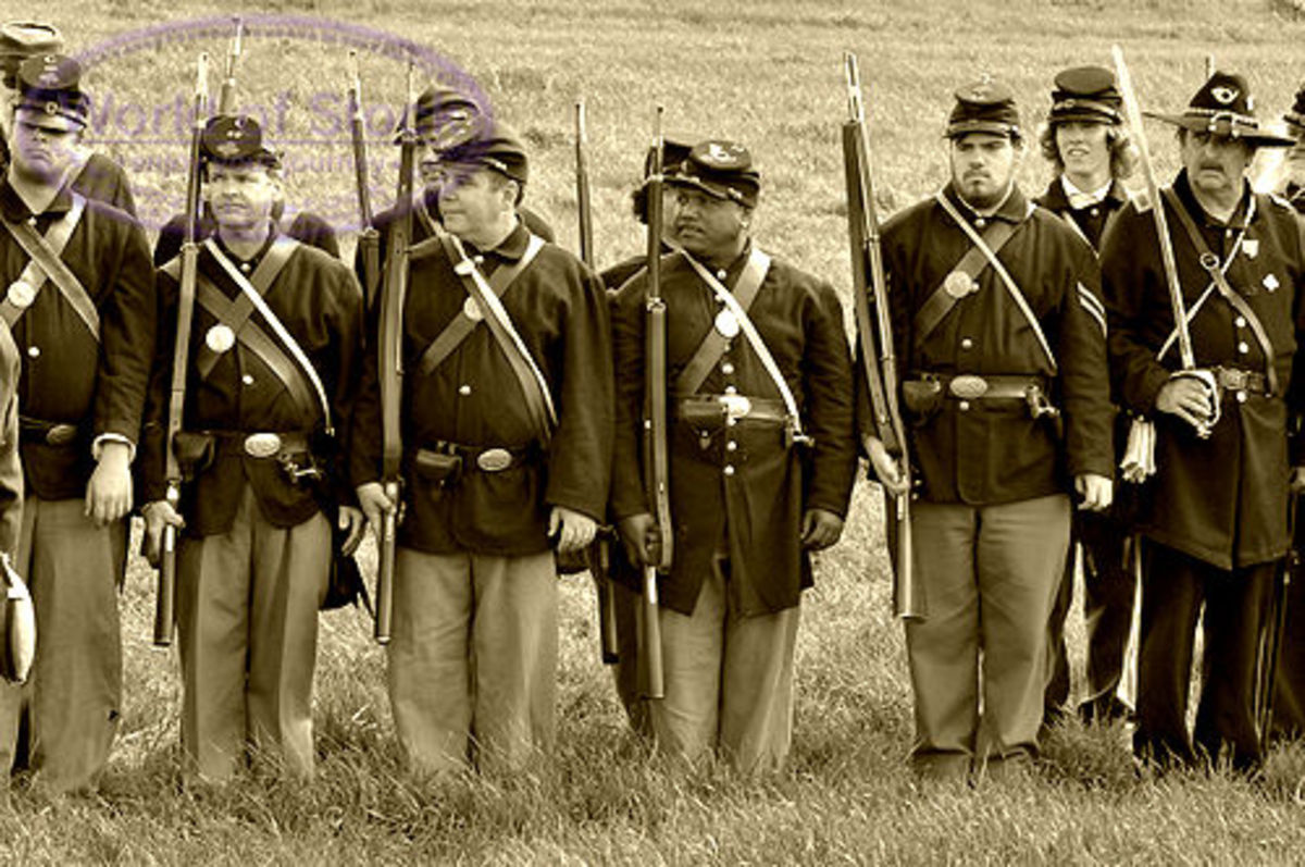 A Living History Unit at Shoulder Arms