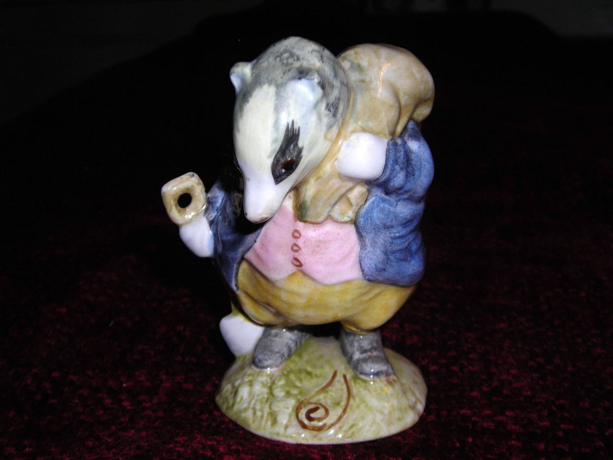 Collectable Beswick Figurines in the Beatrix Potter Series