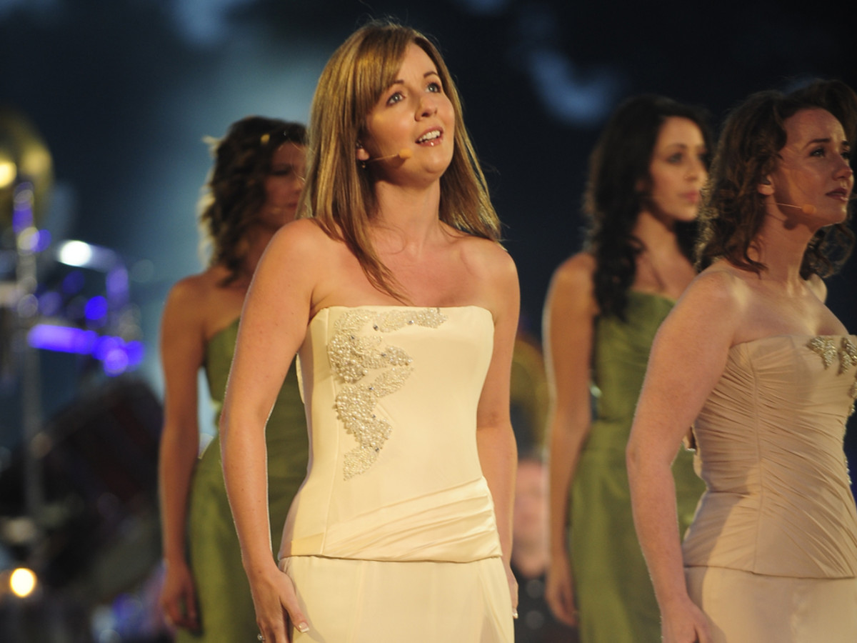 Lisa Kelly of Celtic Woman.