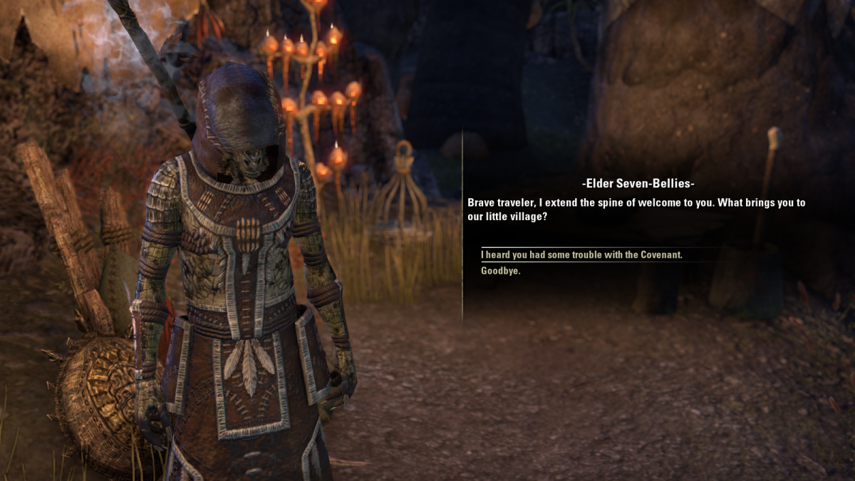 The Elder Scrolls Online Walkthrough - Lukiul Uxith: Hunting Invaders, A Storm Broken
