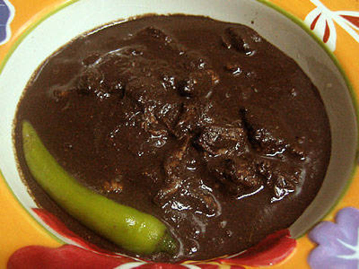 Chocolate meat.
