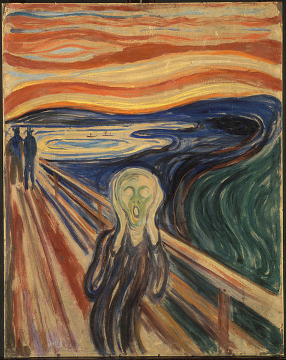 By Edvard Munch, Norwegian Painter