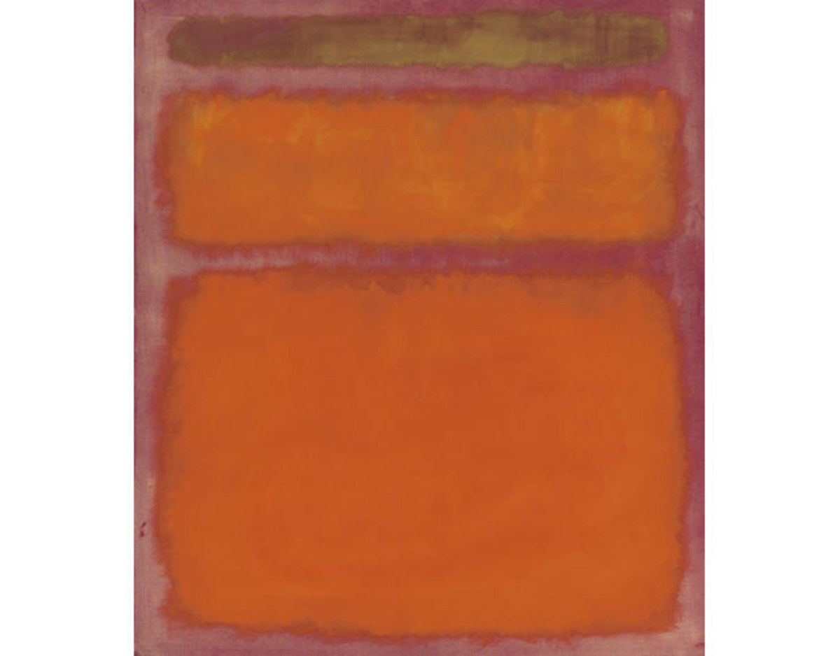 Orange, Red, Yellow was sold at Christies for almost $87 Million in 2012
