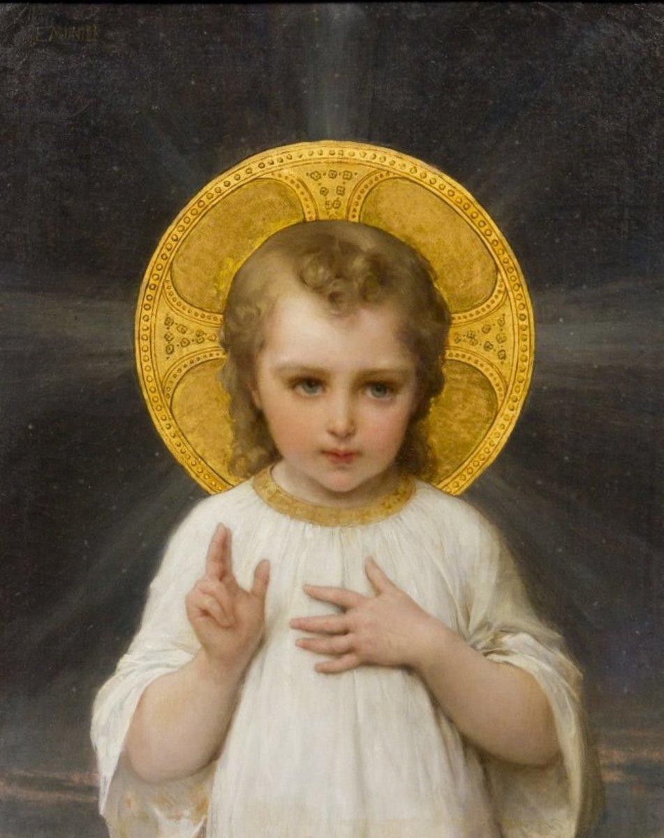 Le Saint Enfant Jésus (The Holy Child Jesus, 1893)