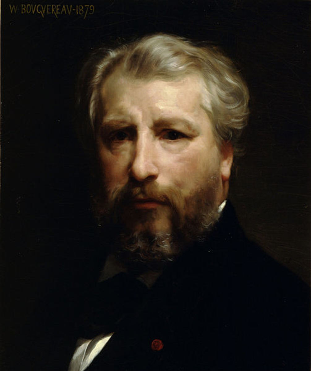 William-Adolphe Bourguereau (1825-1905) French Painter of Realism