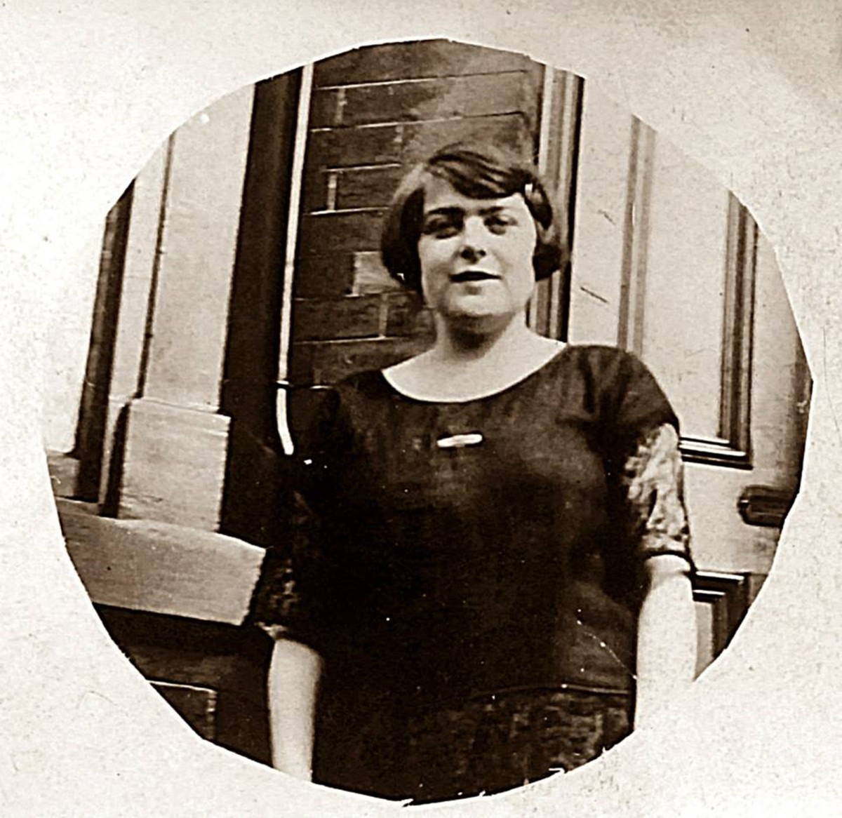 My grandma, Ivy Trigg (nee Garnham) as a young woman in the 1920s.