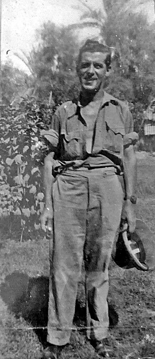 Grandad while in the RAF during the Second World War