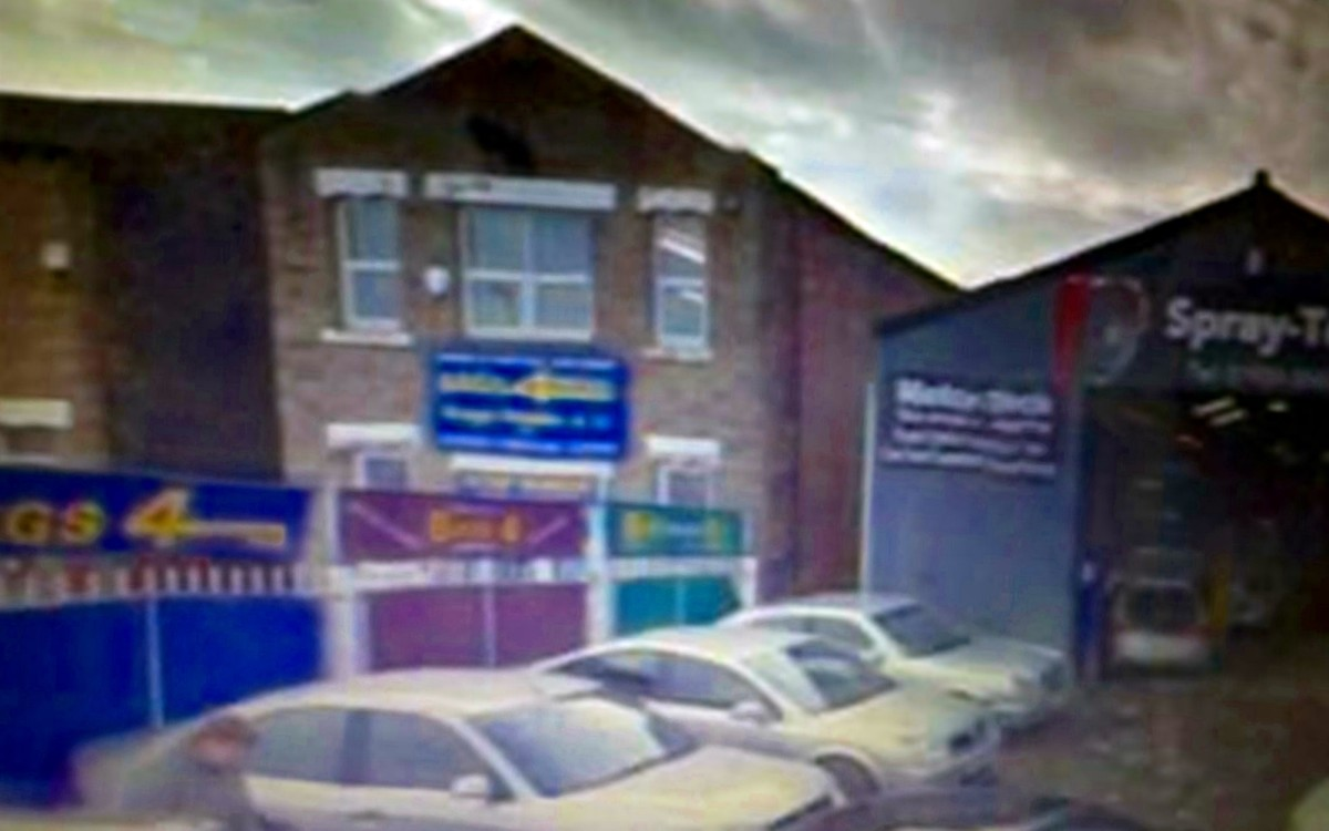 The lock-up premises at 76 Wakefield Road, Ossett, Yorkshire, which used to house my grandad's business, Trigg & Oldfield (pictured in modern times)