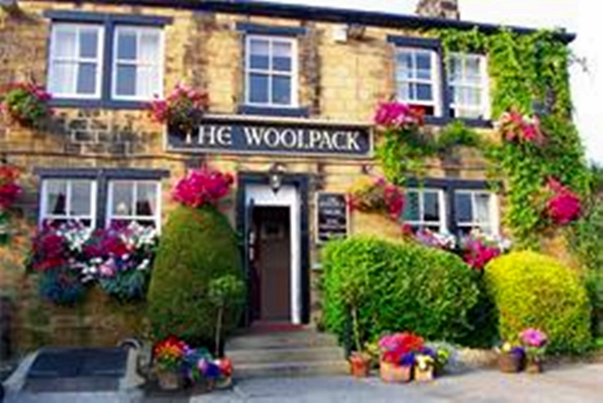 The Woolpack in the village of Esholt, Yorkshire
