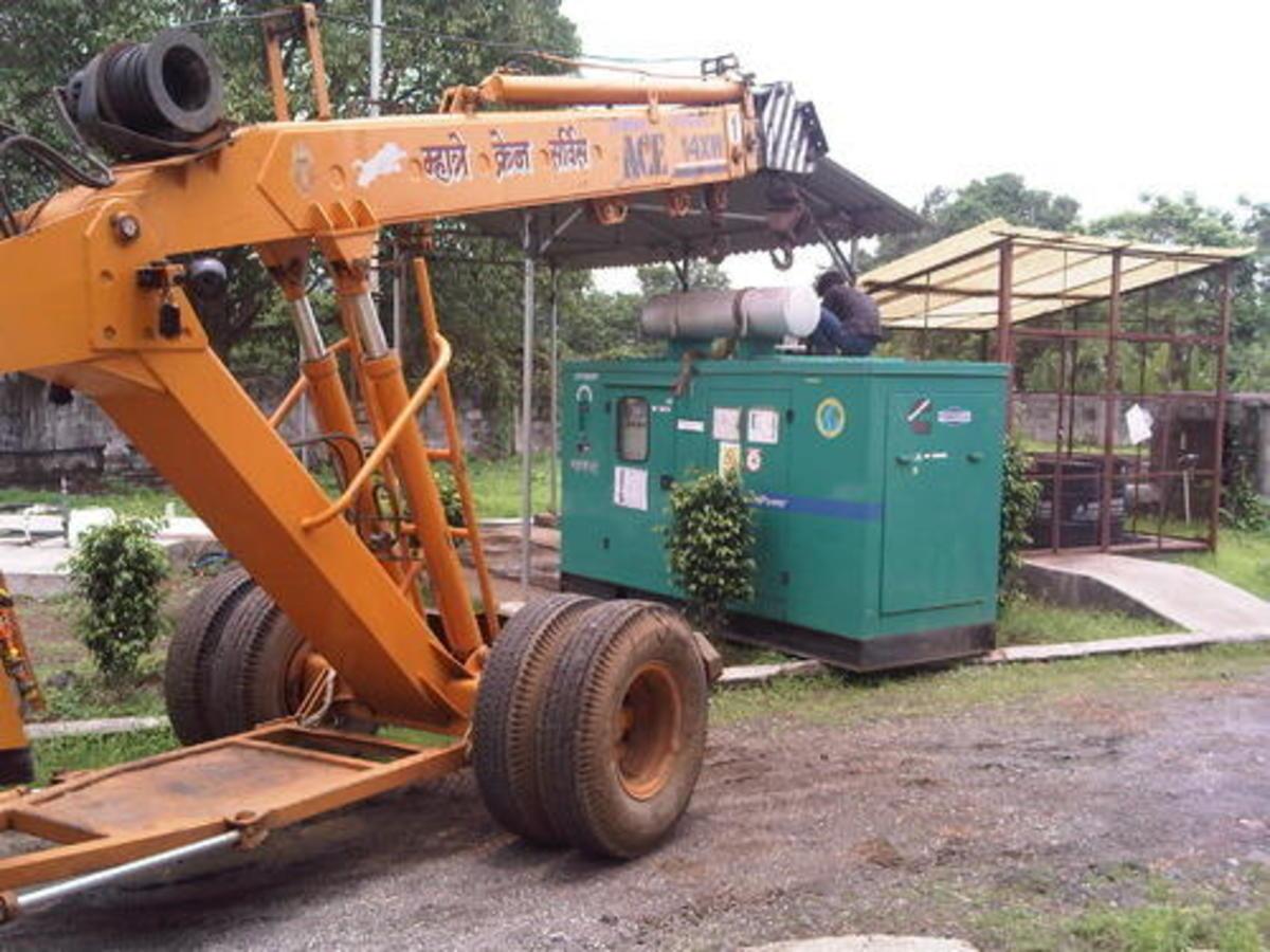 Diesel Generator Installation
