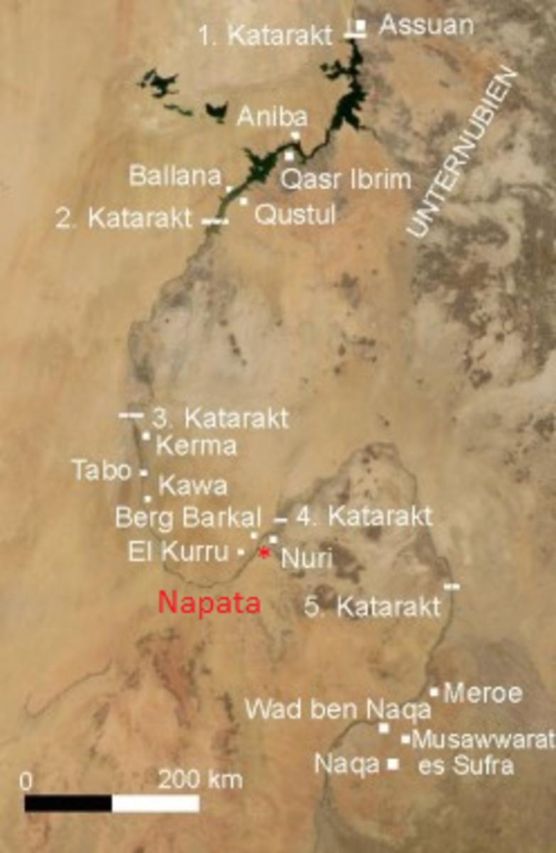 12th Dynasty Egypt controlled to 2nd Katarakt - 18th Dynasty Egypt controlled to 4th Katarakt