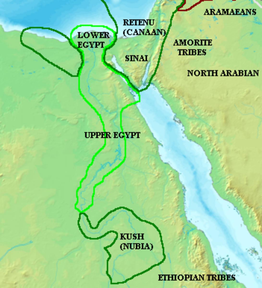 Egyptian Nubian Territories
