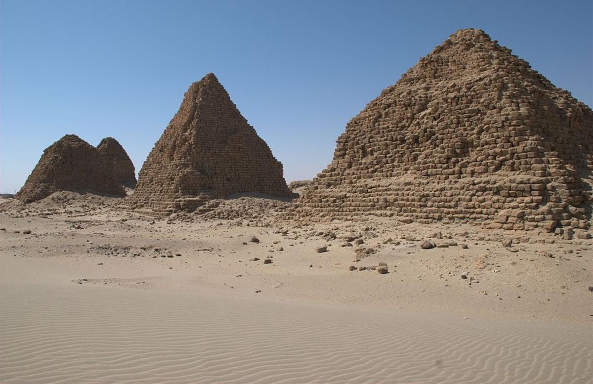 Kush pyramids at Nuri