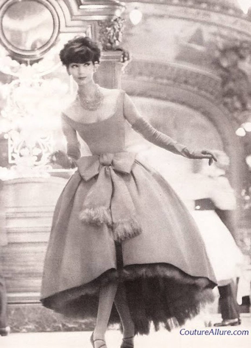 Vintage Christian Dior from 1954