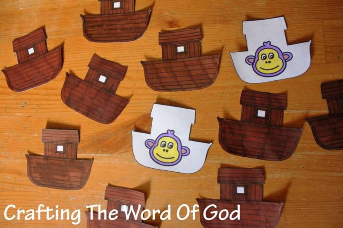 Noahs Ark Match Game