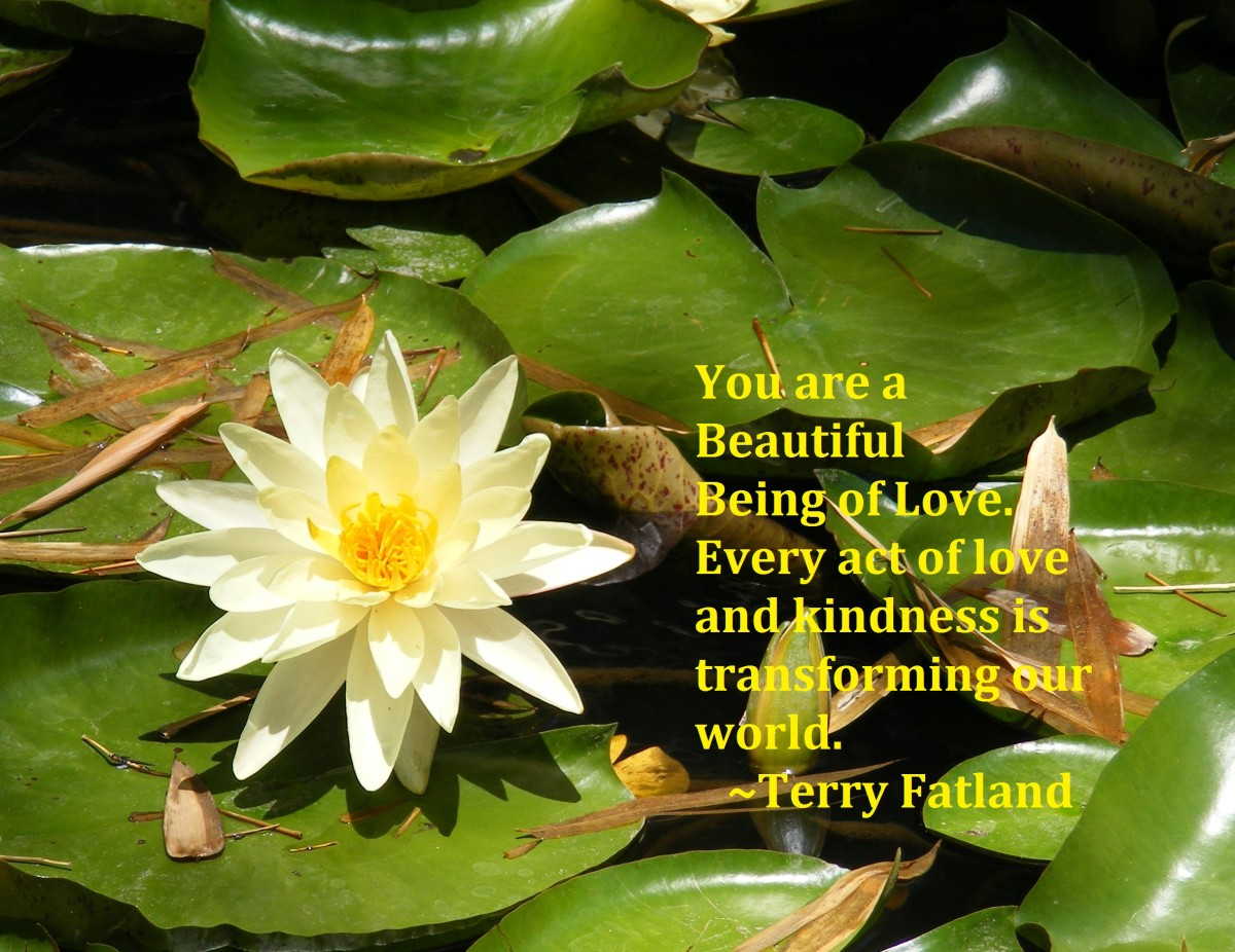 You are a Beautiful Being of Love.
