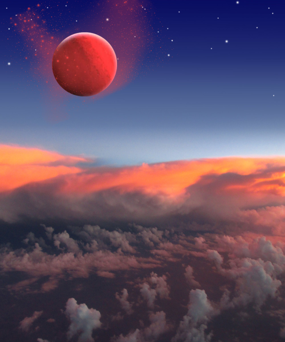 The red planet in my dream is obviously Nibiru or Planet X and is the game changer and I suspect that is why my dream ended then.