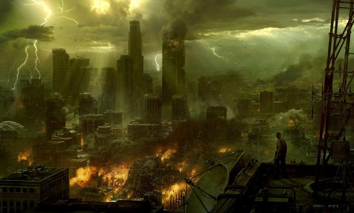 My dream of a post apocalyptic scenario showed anarchy in the streets and complete chaos in society.