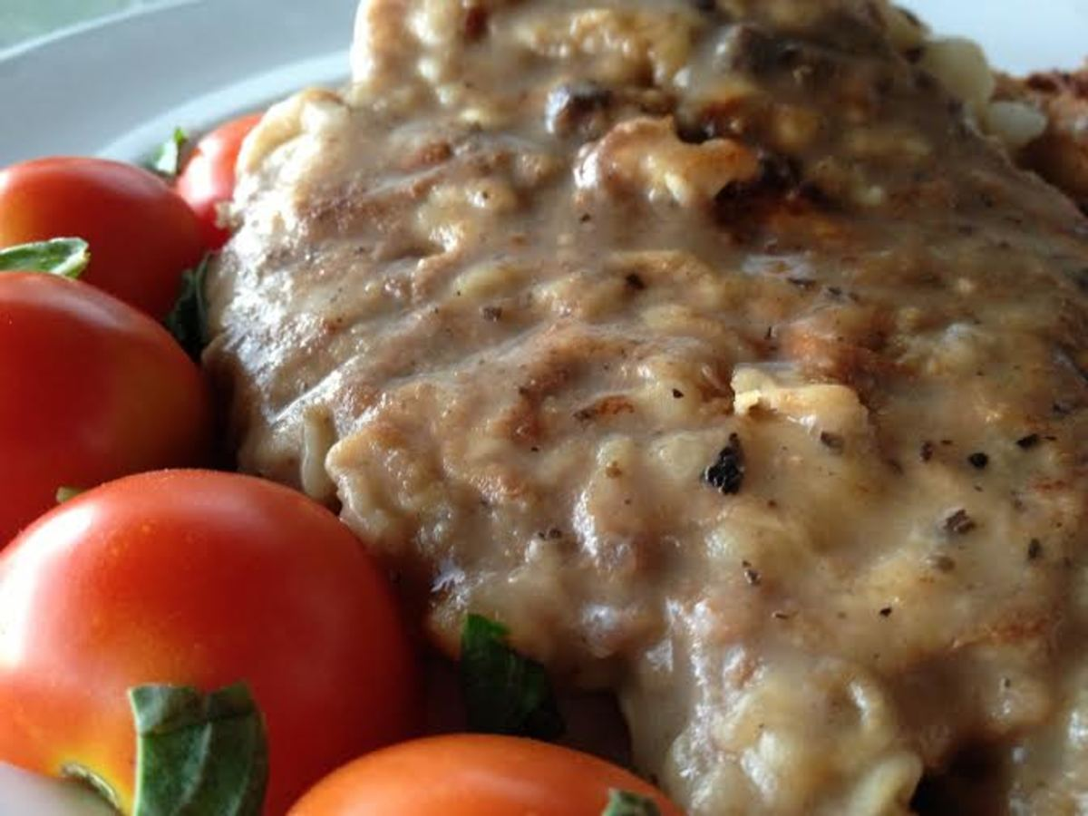Be sure to leave the gravy on the cubed steak when you serve it because it is just that amazing!