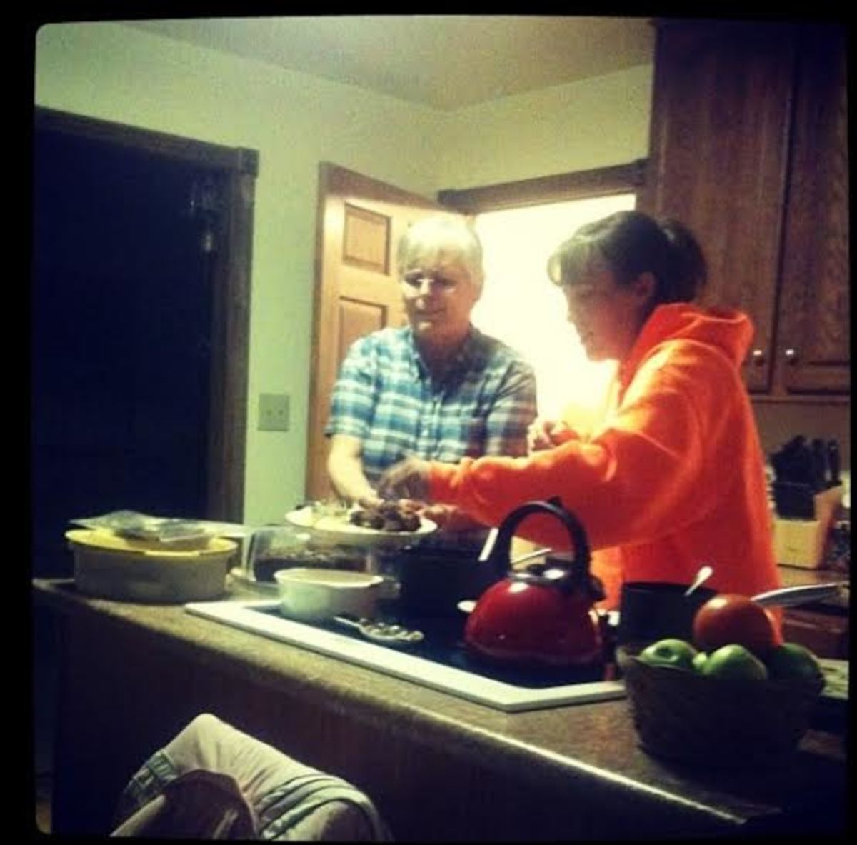 Sunday dinner at Mama's house.