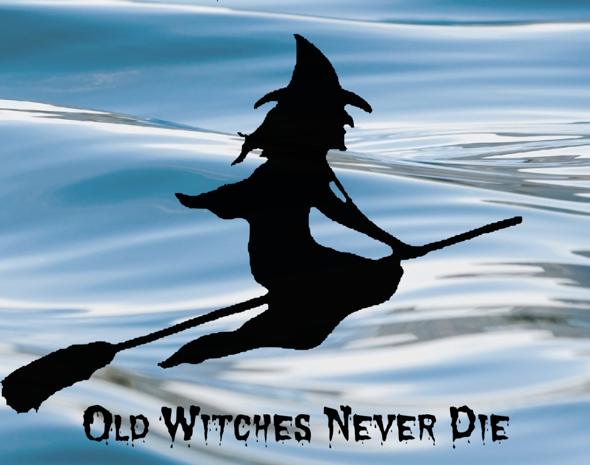 """Old Witches Never Die"" is a poem which uses witches as a metaphor for negative emotions."