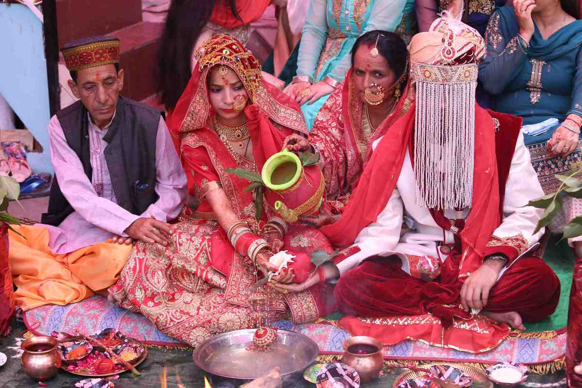 Kangra- The Marriage Ceremonies