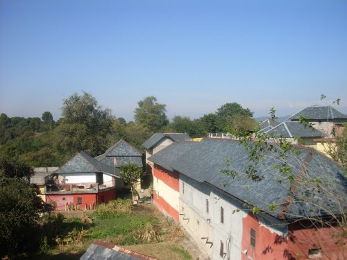 A Small Village of Himachal Pradesh