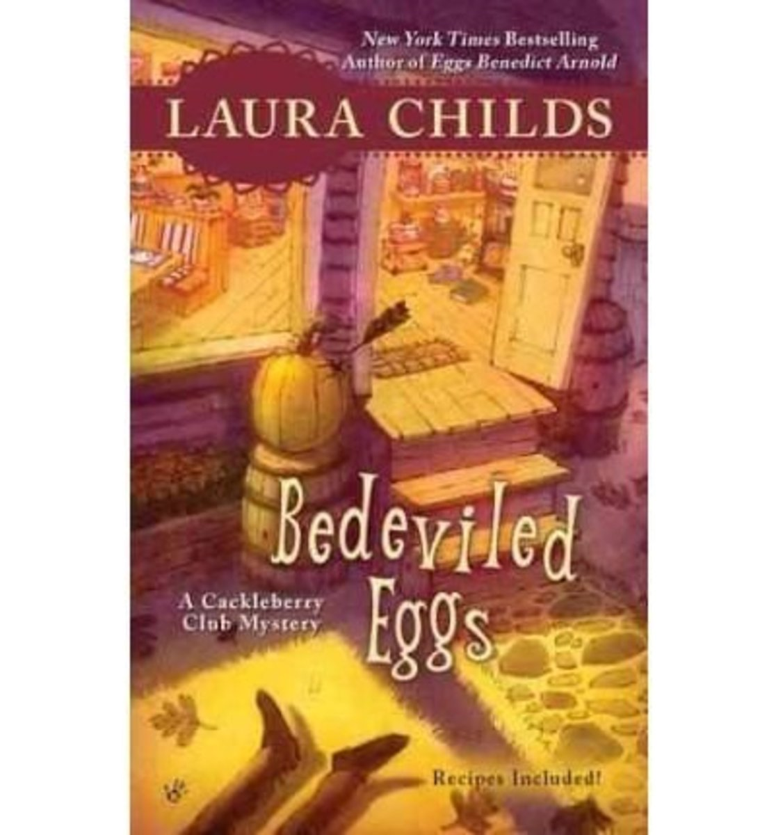 Book Review: Bedeviled Eggs by Laura Childs