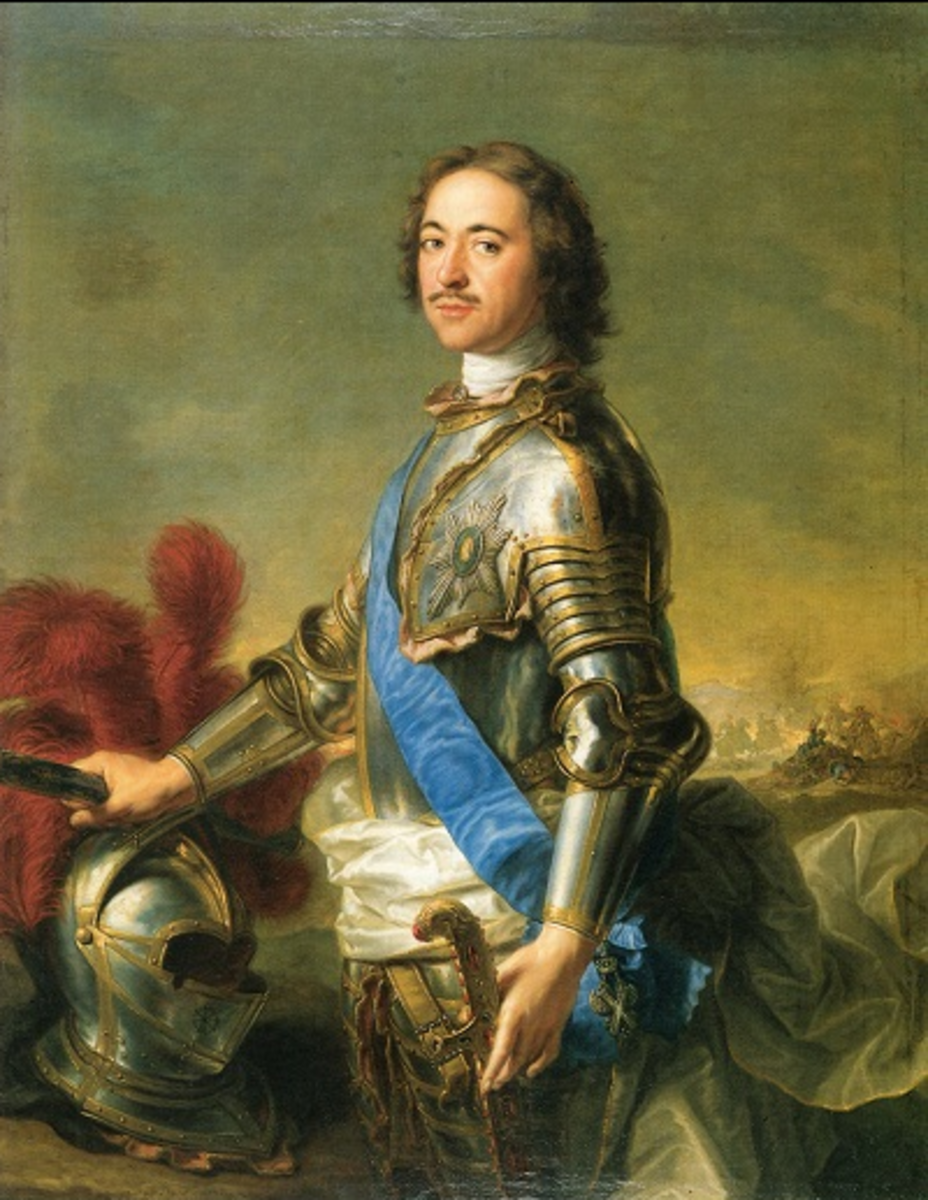 Peter the Great at 45