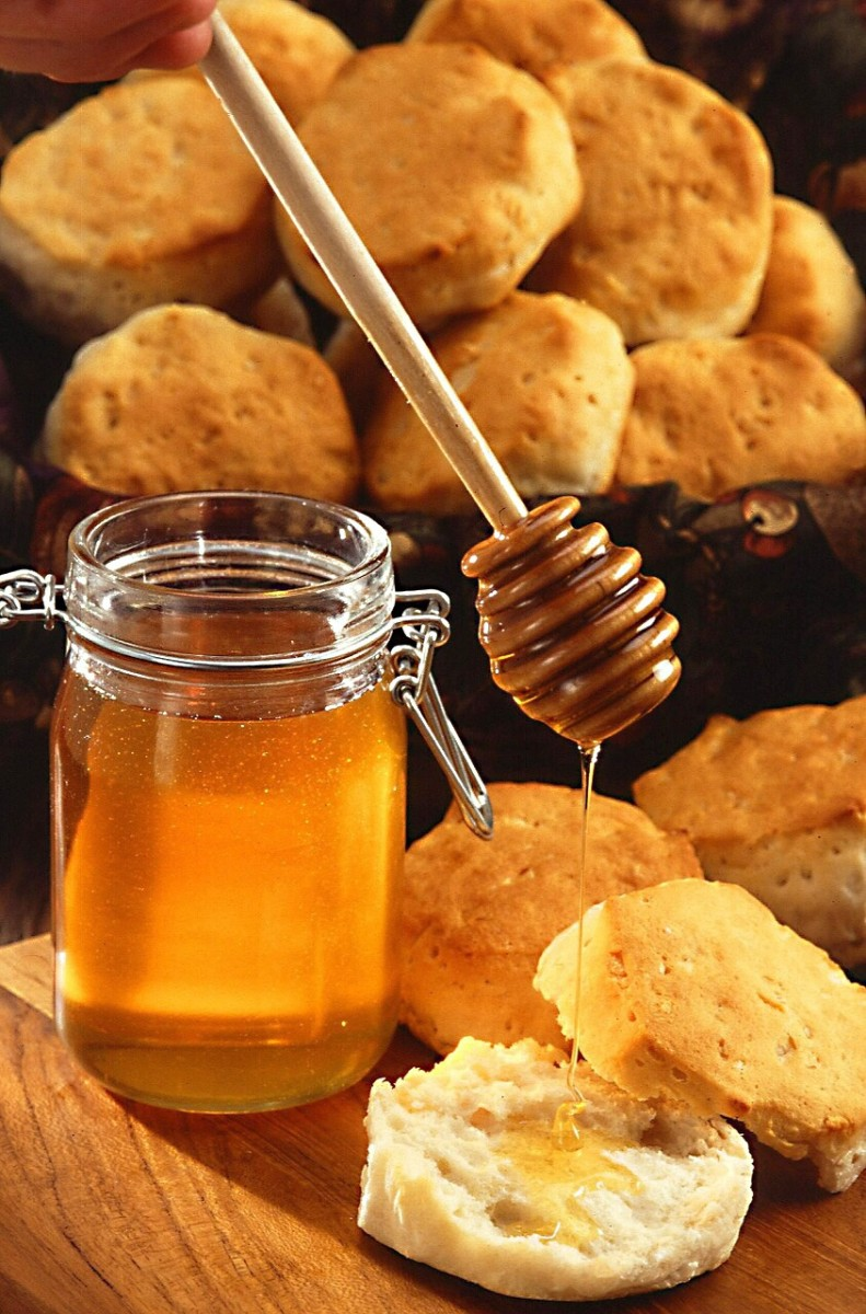 Honey is a natural sweetener and has health benefits, but it's rich in sugars.