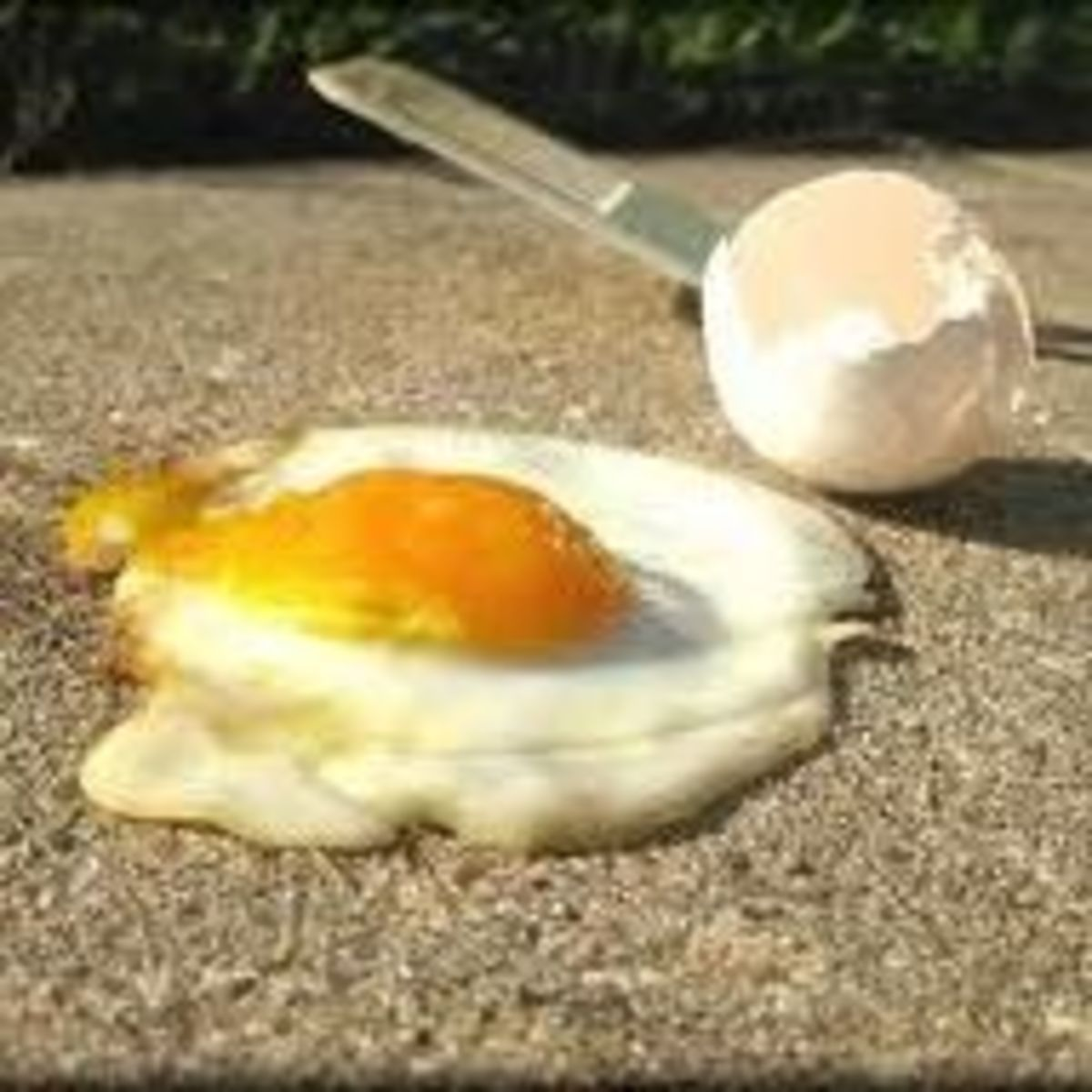 National Sidewalk Egg Frying Day