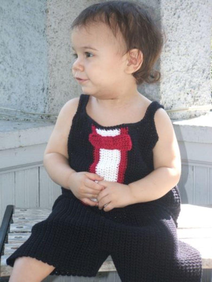 Tuxedo Baby Crochet