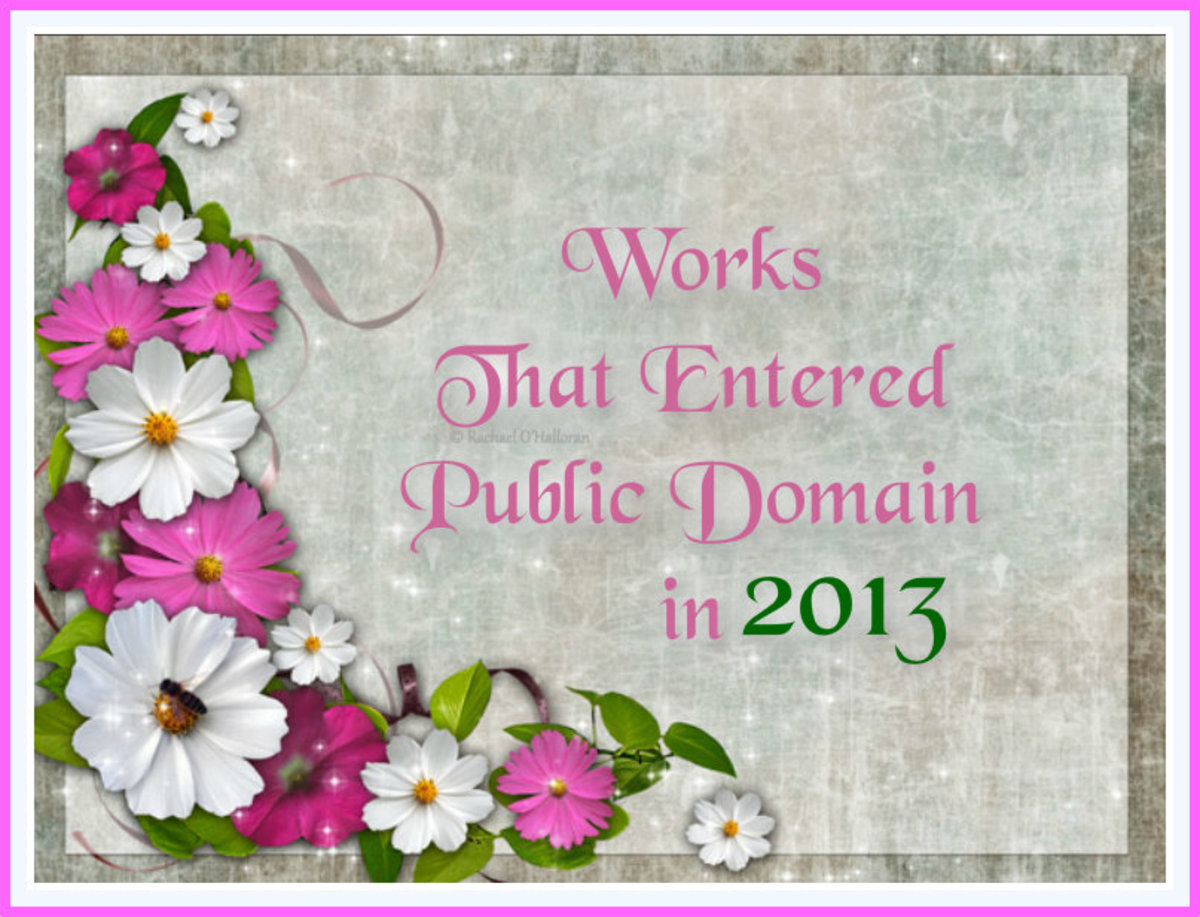 Spotlight on: Works in the Public Domain for 2013 Which You Might Have Missed